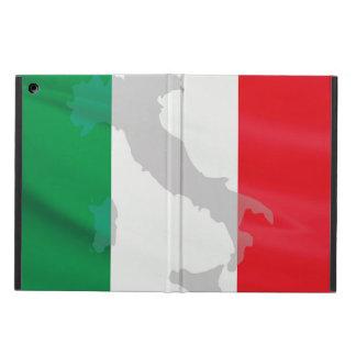 Capa Para iPad Air bandeira e Italia italianas