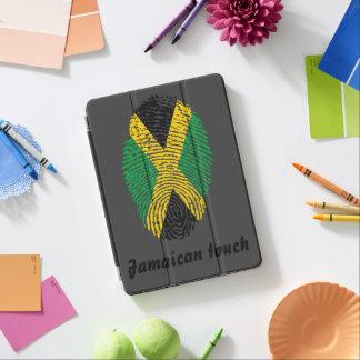 Capa Para iPad Air Bandeira jamaicana da impressão digital do toque