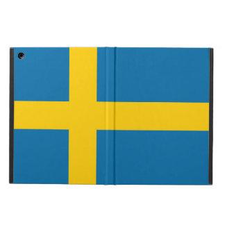 Capa Para iPad Air Bandeira nacional da suecia