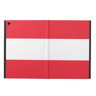 Capa Para iPad Air Bandeira nacional de Áustria