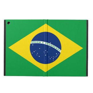 Capa Para iPad Air Bandeira nacional de Brasil, cor exata da