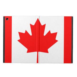 Capa Para iPad Air Bandeira nacional de Canadá, folha de bordo,