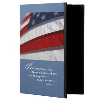 Capa Para iPad Air Bandeira patriótica, americana