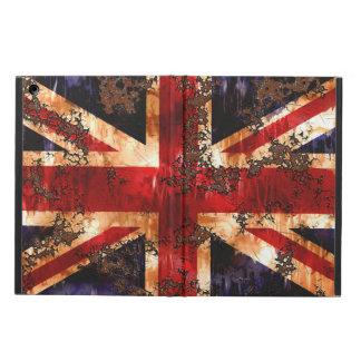 Capa Para iPad Air Bandeira patriótica oxidada de Reino Unido