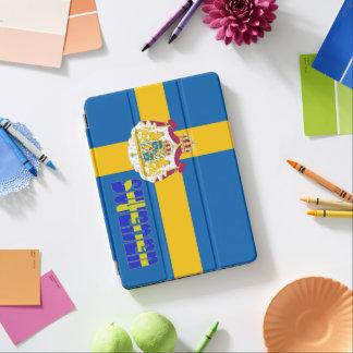 Capa Para iPad Air Bandeira sueco