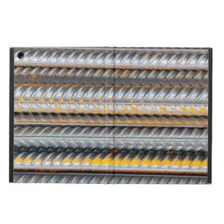 Capa Para iPad Air Bares de teste padrão de aço oxidados