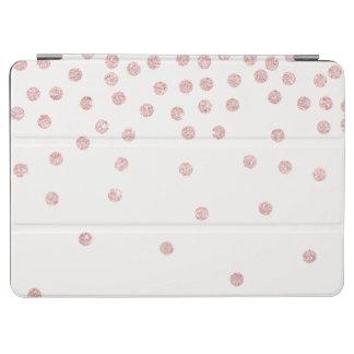 Capa Para iPad Air bolinhas cor-de-rosa femininos dos confetes do