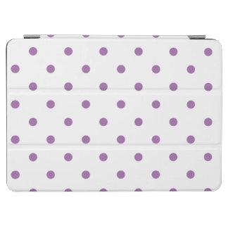 Capa Para iPad Air bolinhas roxas elegantes