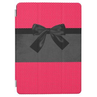 Capa Para iPad Air Bolinhas vermelhas elegantes femininos bonitos -