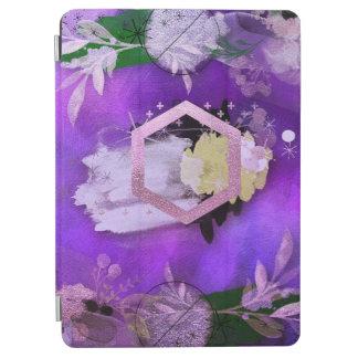 Capa Para iPad Air bonito, ultravioleta, abstrato, colagem, prata, f