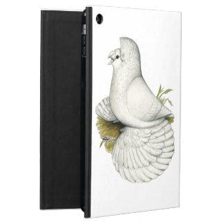 Capa Para iPad Air Branco do pombo da trompetista