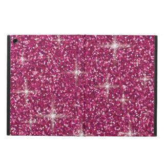 Capa Para iPad Air Brilho iridescente cor-de-rosa