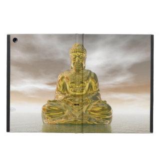 Capa Para iPad Air Buddha dourado - 3D rendem