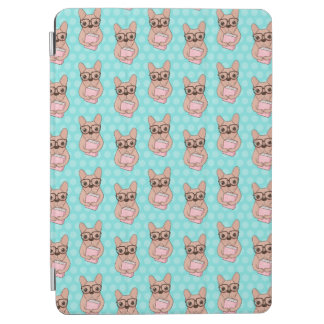 Capa Para iPad Air Buldogue francês Nerdy