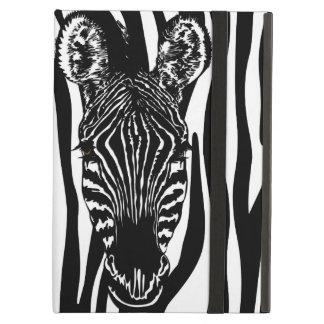 Capa Para iPad Air Cabeça da zebra