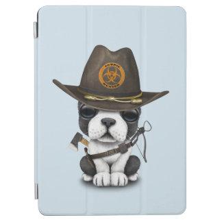 Capa Para iPad Air Caçador bonito do zombi do filhote de cachorro do