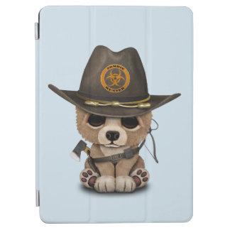 Capa Para iPad Air Caçador do zombi de Cub de urso do bebê