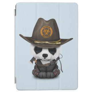 Capa Para iPad Air Caçador do zombi do urso de panda do bebê