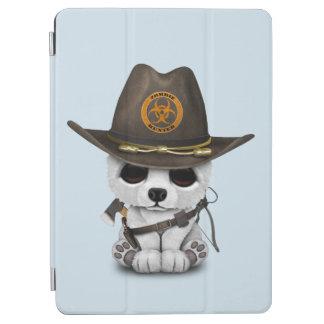 Capa Para iPad Air Caçador do zombi do urso polar do bebê