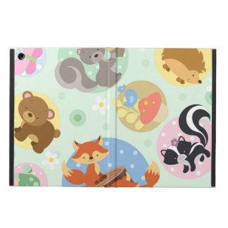Capa Para iPad Air Caixa animal do ar do iPad da floresta sem