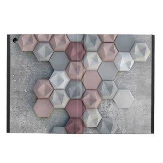 Capa Para iPad Air Caixa arquitectónica do ar do iPad dos hexágonos