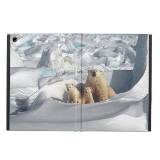 Capa Para iPad Air Caixa ártica do ar do iPad dos animais selvagens