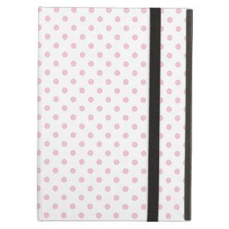 Capa Para iPad Air Caixa branca e cor-de-rosa do iPad do teste padrão