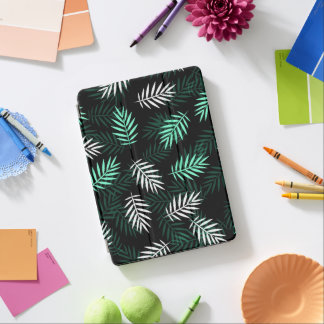 Capa Para iPad Air Caixa branca e verde elegante do ar do iPad das
