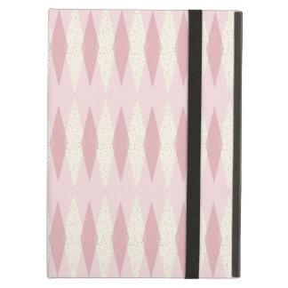 Capa Para iPad Air Caixa cor-de-rosa moderna do ar do iPad de Argyle
