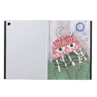 Capa Para iPad Air Caixa do ar da Eu-Almofada do pente das medusa