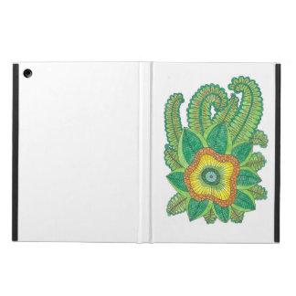 Capa Para iPad Air caixa do ar do iPad com flores