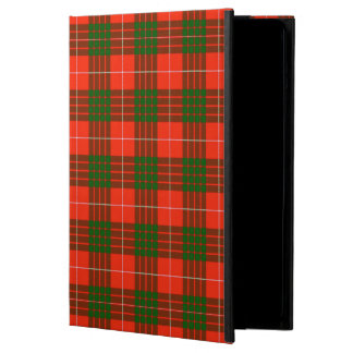 Capa Para iPad Air Caixa do ar do iPad do Tartan de Crawford