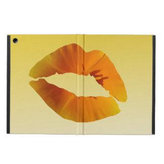 Capa Para iPad Air Caixa do ar do iPad dos lábios sem Kickstand
