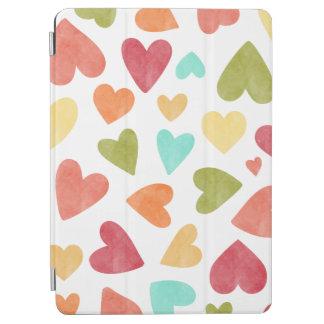Capa Para iPad Air Caixa do ar do iPad dos namorados dos corações da