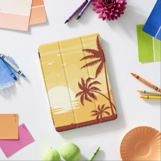 Capa Para iPad Air Caixa do ar do iPad tropical sereno do por do sol