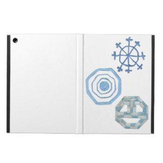 Capa Para iPad Air Caixa especial da Eu-Almofada do floco de neve