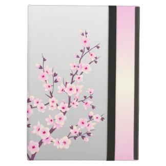 Capa Para iPad Air Caixa floral do ar do iPad das flores de cerejeira
