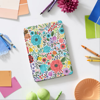 Capa Para iPad Air Caixa floral doce e colorida do ar de Ditsy | Ipad