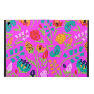 Capa Para iPad Air Caixa inglesa do ar do iPad do rosa de jardim