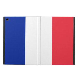 Capa Para iPad Air Caixa Tricolour nacional francesa do iPad da