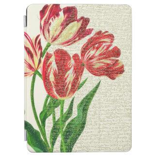 Capa Para iPad Air Caligrafia vermelha das tulipas