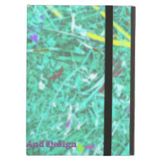 Capa Para iPad Air Campo do verde, pela arte de Mickeys e pelo design
