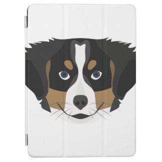 Capa Para iPad Air Cão de montanha de Bernese da ilustração