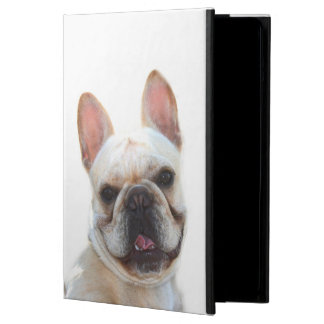 Capa Para iPad Air Cão feliz do buldogue francês