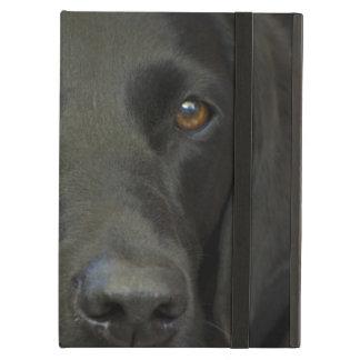 Capa Para iPad Air Cão preto de Labrador