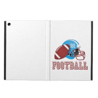 Capa Para iPad Air Capacete e bola de futebol