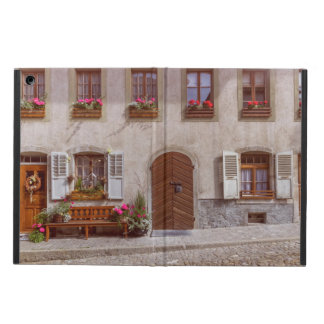 Capa Para iPad Air Casa na vila do Gruyère, suiça