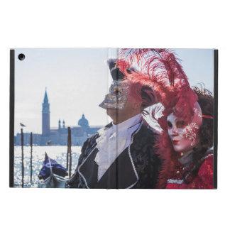 Capa Para iPad Air Casal de máscaras do carnaval