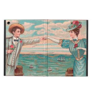 Capa Para iPad Air Casal do casamento de praia do Victorian