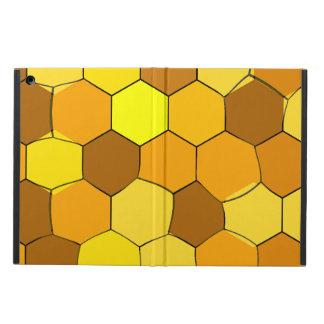 Capa Para iPad Air Caso abstrato do iPad do favo de mel